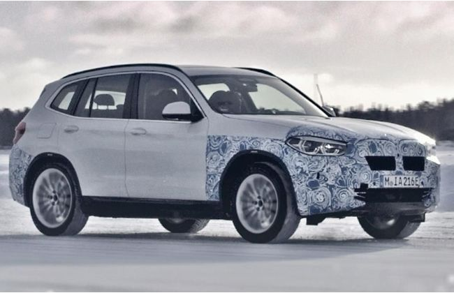 BMW reveals iX3, appears similar to the concept version