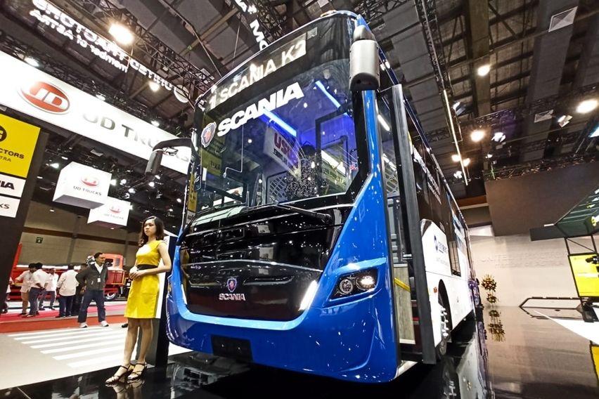 GIICOMVEC 2020: Mengenal Lebih Dekat Bus Transjakarta, Scania K250IB 4x2