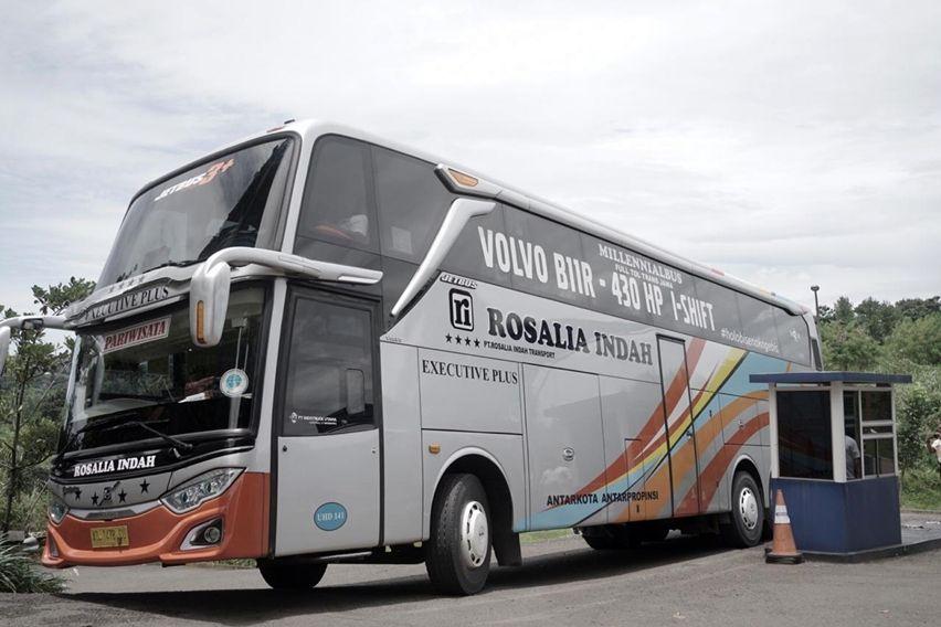 Volvo Ajak Media dan Pelanggan Mencicipi Bus B11R Premium Buatan Adiputro